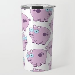 Cute cartoon piglets Travel Mug