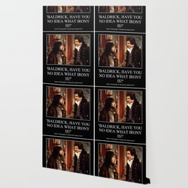 Baldrick Irony Theory Wallpaper