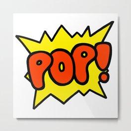 'Pop' Art Sound Explosion Metal Print
