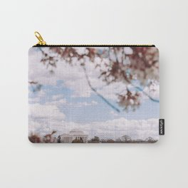 Washington DC Cherry Blossoms - Thomas Jefferson Memorial II Carry-All Pouch