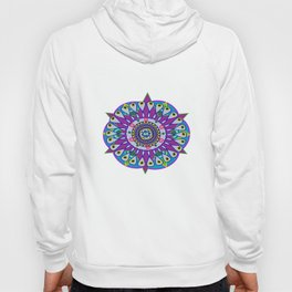 Purple mandala pattern Hoody