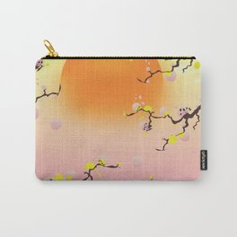 Japan Blossom Garden Carry-All Pouch
