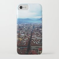 florence iPhone & iPod Cases featuring Florence by grrrenadine