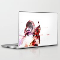 pain Laptop & iPad Skins featuring PAIN by Rideth_Mochi
