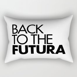 Back to the Futura Rectangular Pillow