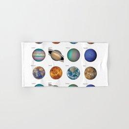 Planets solar system Hand & Bath Towel