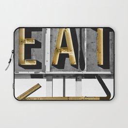 Retro Diner Sign Laptop Sleeve
