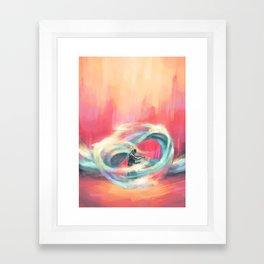 Waterbender Framed Art Print