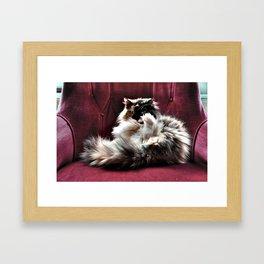 Don't be so serious  Framed Art Print