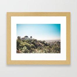 Observatory Views Framed Art Print