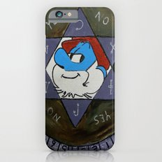 Smurfin with fire Slim Case iPhone 6s