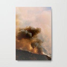 Cedar City Forest Fire - III Metal Print