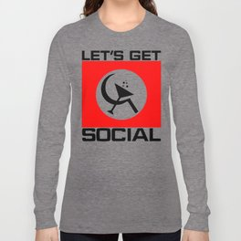 Let's Get Social Long Sleeve T-shirt