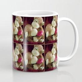 "Monkey ""Love and Roses"" Coffee Mug"