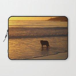 Beach Dog Laptop Sleeve