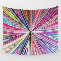 lana Wall Tapestries featuring Principio 100%LANA by MaLú Mariné