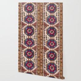 Kozak Bergama Turkish  Antique Rug Wallpaper