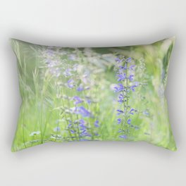 meadow sage Rectangular Pillow