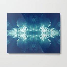 Atomic Clouds Metal Print