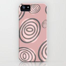 Swirls - Mid-Century-Modern iPhone Case