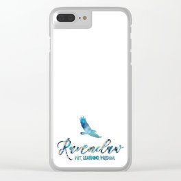 Wit, learning, wisdom Clear iPhone Case