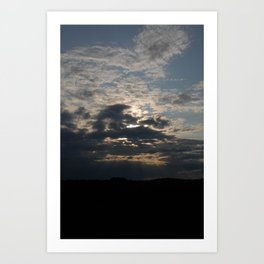 Through to the Heavens Art Print
