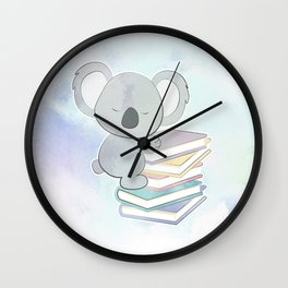 KOALA READS Wall Clock