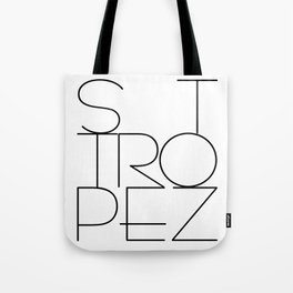 St. Tropez, jetset holidayplace in the South of France at the Mediterranean Tote Bag