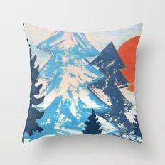 Pine & Sun Throw Pillow
