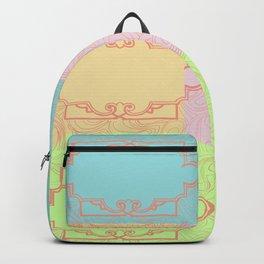 Art Deco Bohemian Pastel palette Backpack