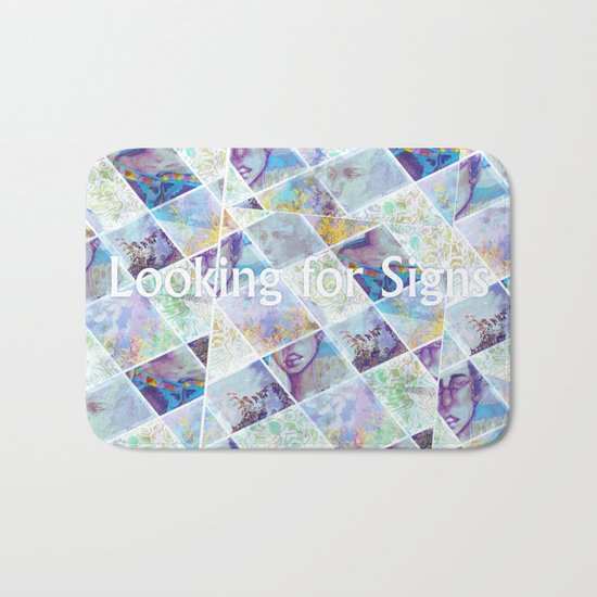 Looking for Signs Bath Mat