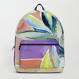Agave from Toledo, Spain Watercolor Backpack