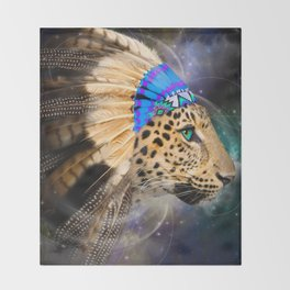 Fight For What You Love (Chief of Dreams: Leopard) Tribe Series Throw Blanket
