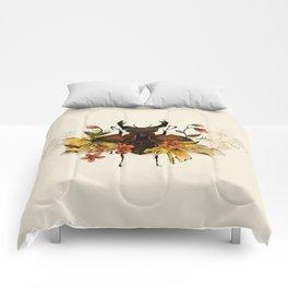 Blooming Beetle Comforters