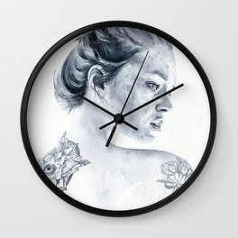 Polly (2) Wall Clock