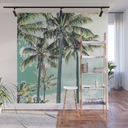Under the palms Wall Mural