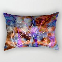 Floral Cloud Spectacle Rectangular Pillow