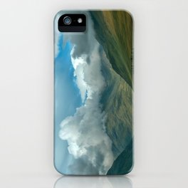 Cloudy afternoon in Connamara iPhone Case