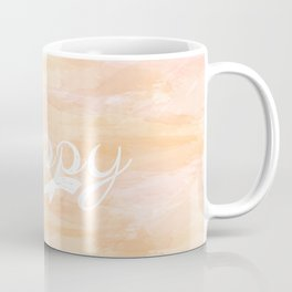 Watercolor Happy Coffee Mug