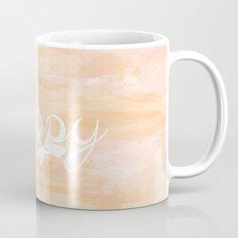 Watercolor Happy Coffee Mug