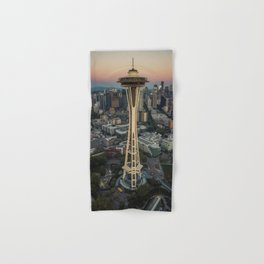Space Needle Hand & Bath Towel