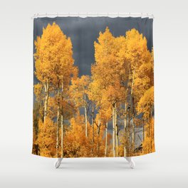 Perfect Golden Autumn Shower Curtain