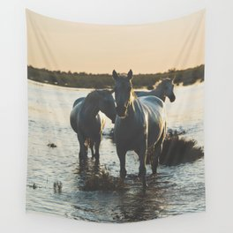 Camargue Horses III ... Wall Tapestry