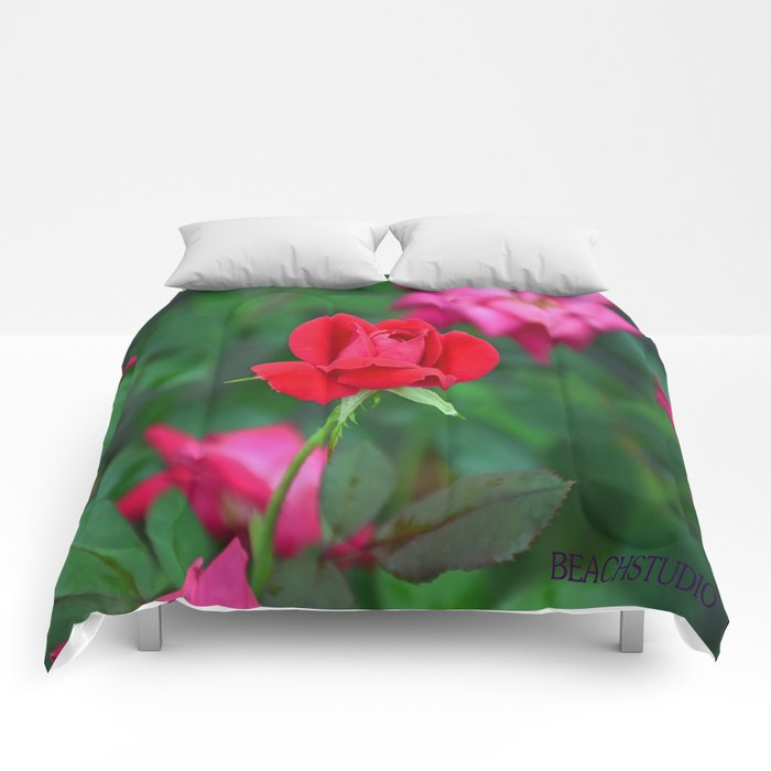Red Rose Comforters