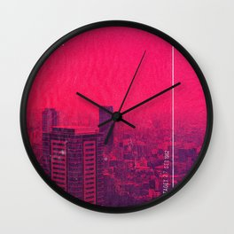 Lonely City Wall Clock