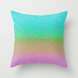 Glitter Star Dust G245 Throw Pillow
