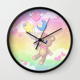 Floating Through Dreamland Wall Clock