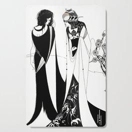 John the Baptist and Salome - By Aubrey Beardsley - Vintage Art Nouveau Print Cutting Board