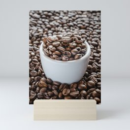 Roasted Coffee Beans Mini Art Print