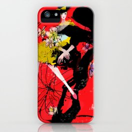 Fashion queen iPhone Case